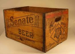 caja vintage refrescos aguas agricola