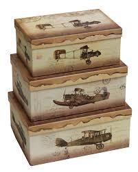 packaging vintage caja